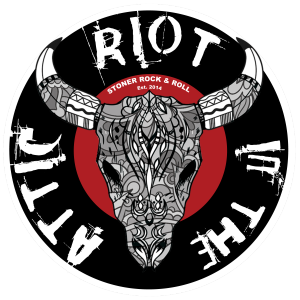 Riot in the Attic Logo Skull